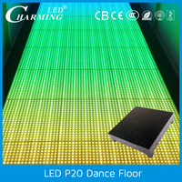 led dancing floor for rental, car exhibition, stage, wedding