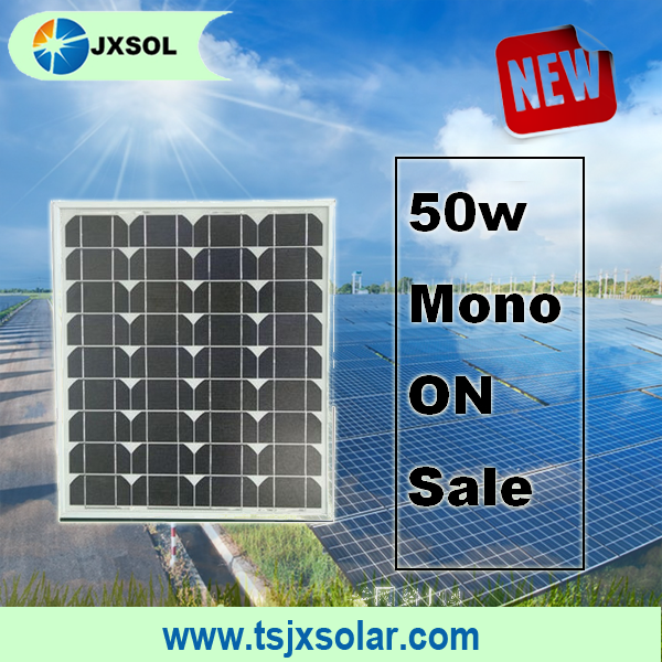 smal panel 50watt monocrystalline solar panel and pv module with best price