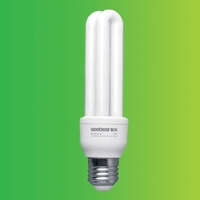 2U Energy Saving Fluorescent CFL 13W