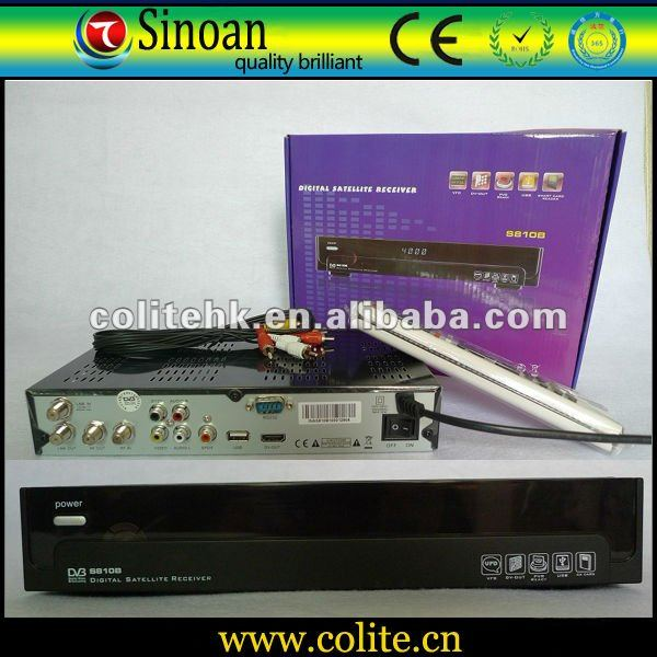 Best Price AZ America S810b Receiver,DV-OUT(HDMI)+VFD+CA+USB,Twin Protocol,Dongle Decode Nagra3