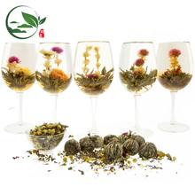 Natural Healthy Chinese Art Bloom Tea Organic Flowering Blooming Tea