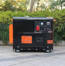 hot sale soundproof 3kw 5kw portable diesel generator price in india for home use