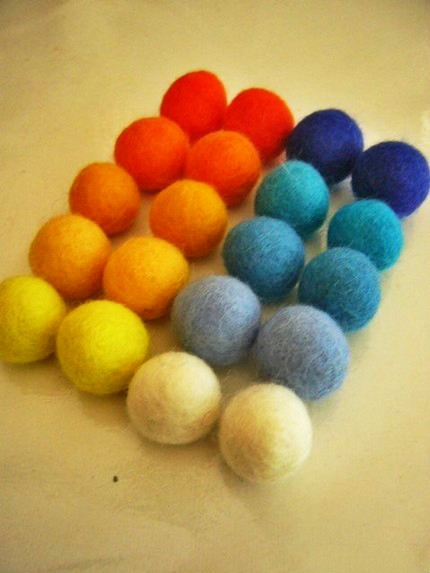 Cashmere wool dryer ball for washing machine