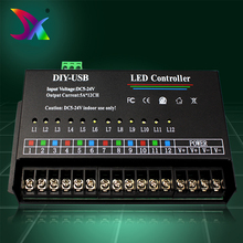 Shenzhen factory single color rohs dmx led display controller with 3 years warranty