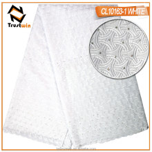 New arrival voile lace wholesale african type bridal swiss voile lace for dress