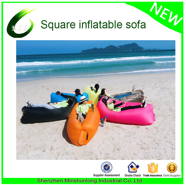 inflatable chair 2017 top sell inflatable lounger ripstop air lazy bag