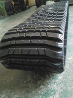 457*101.6 ASV RC100 Loader Rubber Track, for Construction Machinery Parts