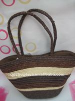2015 fashion china wheat straw handlebag