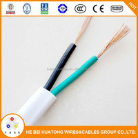 Low voltage 300/500V pvc insulated 2 core power cable 4mm2