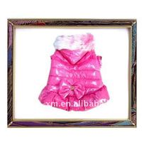 2012 new design hot selling pink pet jacket for dog and cat,dog clothes,cat clothes