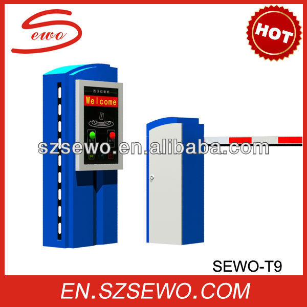 SEWO -T9 High Quality Intelligent Parking Access Revenue Control Systems with Rfid Card Reader