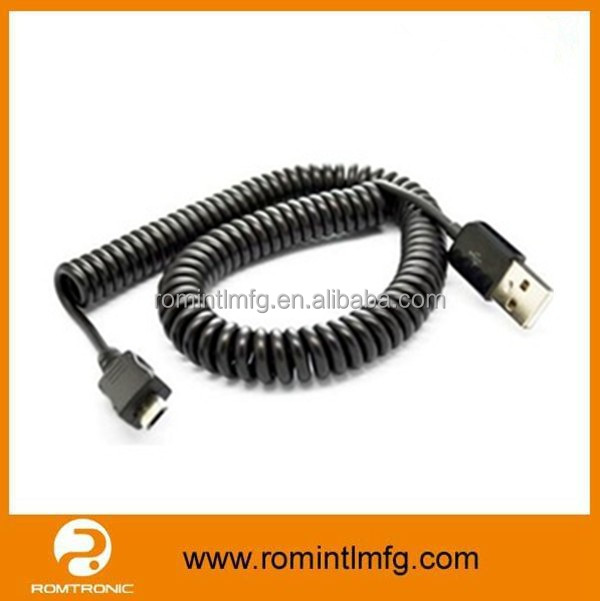 Data Cable Micro USB Cable Spiral / Coiled