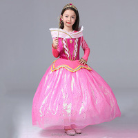 Sleeping beauty princess girls dress