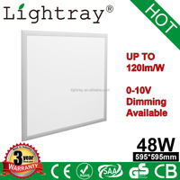 slim led panel light RGB Dimmable 48w 60*60 with EMC LVD SAA ROHS