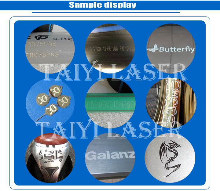 Laser marking machine for pvc plastic tube and pipe industry