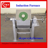 steel, stainless steel, copper, aluminum, gold, silver melting used induction melting furnace