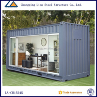 20 Feet Luxury Prefabricated Shipping Container Houses For Rent