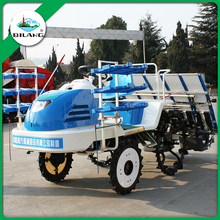 China agriculture machinery 4-wheel rice paddy transplanter