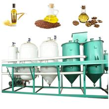Refined flaxseed oil refinery equipment With Dewaxing Process