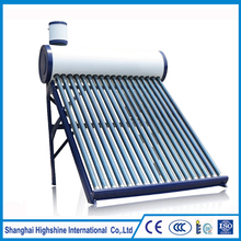 Hot selling product 200 l solar water heater with assistant tank Unpressurized Solar Water Heater Assistant Tank