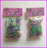 2015 top selling colorful diy silicon rubber band