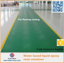 Water based Liquid Epoxy resin Emulsion for Concrete resistance to alkali self-cleaning sealer and anti permeability material
