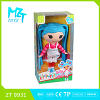 2015 New !Eco-friendly Button Girl(the PVC hair doll series)+accessories barbie doll (2 model mixed)