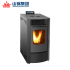 Mini wood pellet fired boilers for heating