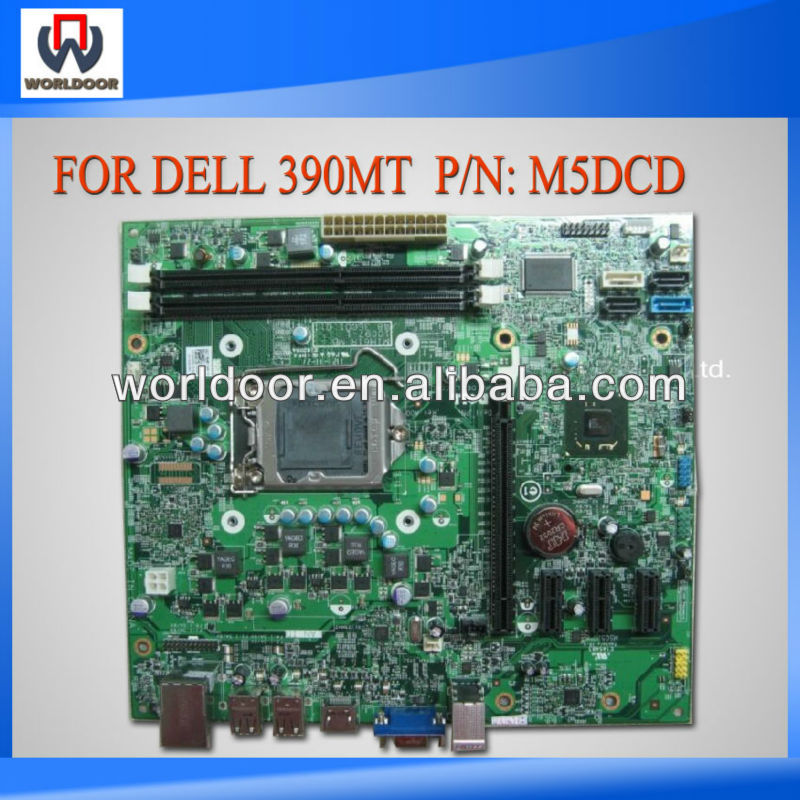 For DELL OptiPlex 390 Motherboard P/N: M5DCD