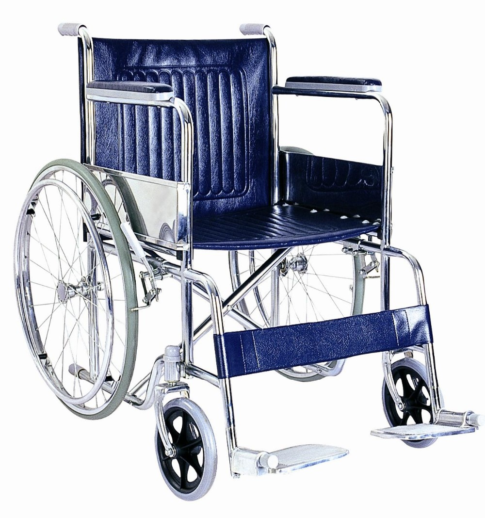 Lowest Price Economic Utility Handicapped Rolling Chair Wheelchair ...