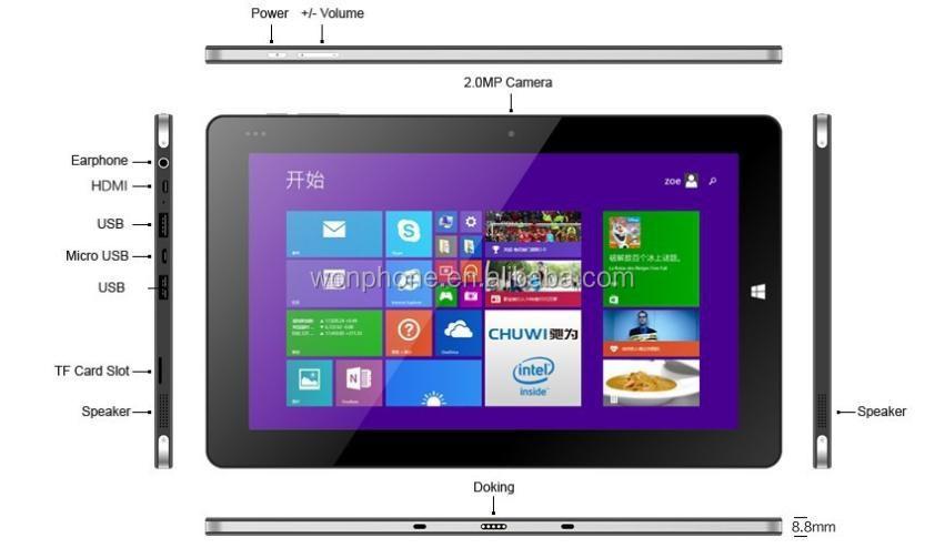 chuwi vi10 tablette dual os 2 en 1 pc tablet win 8 1 et. Black Bedroom Furniture Sets. Home Design Ideas