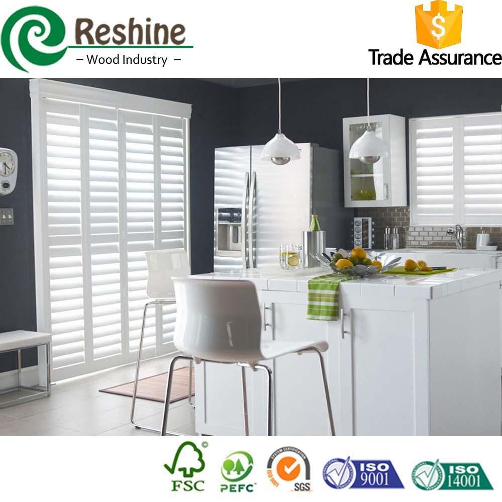 Kitchen Window Wood Plantation Shutters Buy Wood Plantations Shutters Wood Shutters Kitchen