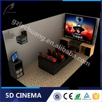 Low Invest High Profit 2/3/4/6/9/12 Seats Electric/Hydraulic 7D Cinema 7D Kino
