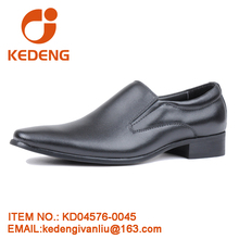 China Wholesale High Class New Style No Laces Dress shoe Genuine Leather men dress shoes