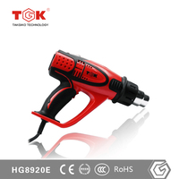 Hot Air Gun with Temperature Sensors for Different Welding Applications
