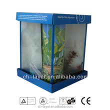 Small Triangle Aquarium glass fish tank high transparency