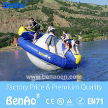 W028 Water park inflatable buoy saturn inflatable water games for sale