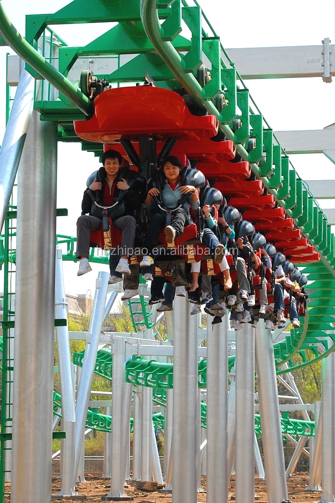 park ride suspension suspended roller coaster for sale