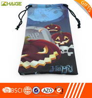 custom microfiber drawstring pouch bag Hot sale
