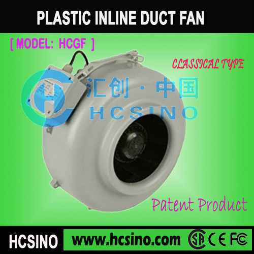 Plastic Impeller Duct Fan with IEC Connector(HCGF)