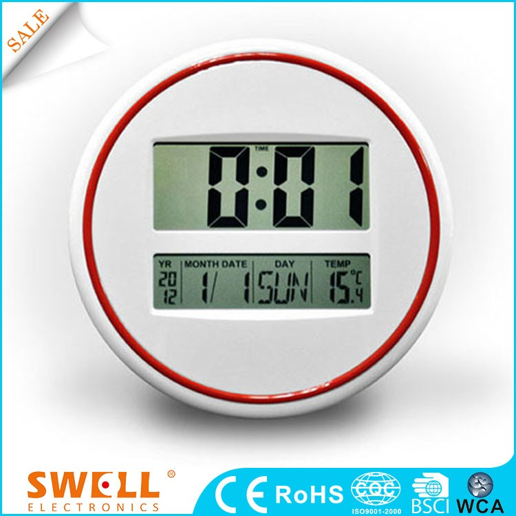 2015 new arrival table wall clock , different type of wall clock