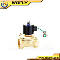 high quality 1/4~2 inch normally closed/open 220v irrigation solenoid control valve coil manufacturer in China