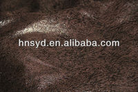 highe quality warp knitting Deerskin suede fabric