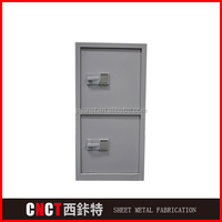galvanized steel powder coating sheet metal enclosure for file cabinet