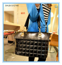 2014 High Quality Square Shape Lady Tote Bag Handbag