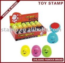 egg shape toy stamp,toy stamp