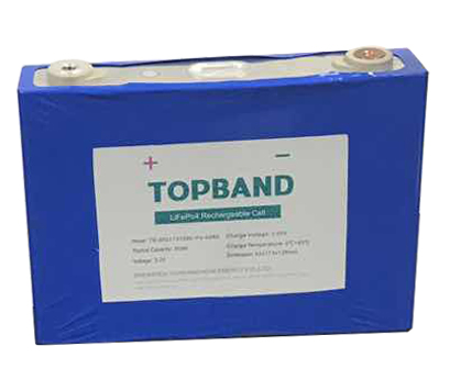 Topband 3.2V 50Ah lithium rechargeable cell