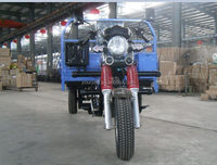 Most Popular Powerful Gasoline Engine 250CC Water Cool Adult Cargo Tricycle With Passenger Seat