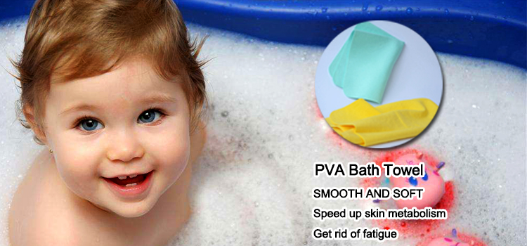 absorbent embroidered pva polyester bath towel