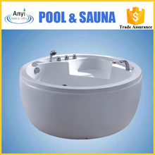 small size round arcylic spa massage freestanding round bathtub for kids